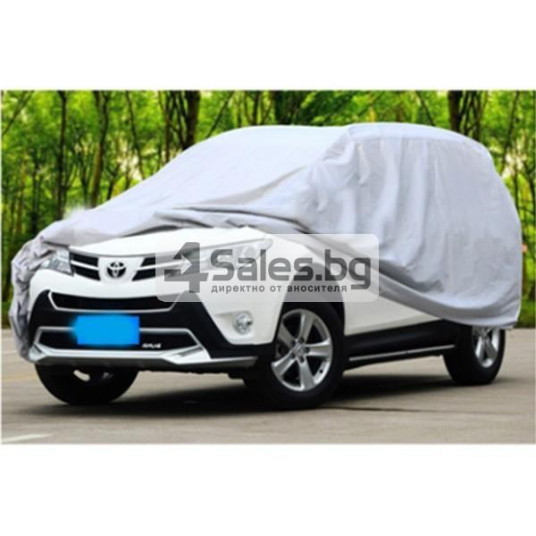 Покривало от PEVA материал за кола срещу градушка, външни условия и UV лъчение 2