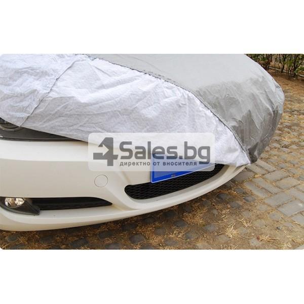 Покривало от PEVA материал за кола срещу градушка, външни условия и UV лъчение 3