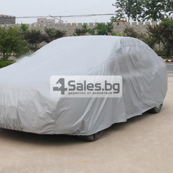 Покривало от PEVA материал за кола срещу градушка, външни условия и UV лъчение 4