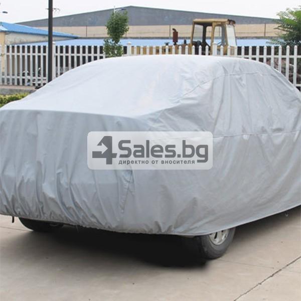 Покривало от PEVA материал за кола срещу градушка, външни условия и UV лъчение 6