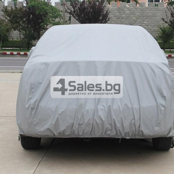 Покривало от PEVA материал за кола срещу градушка, външни условия и UV лъчение 7