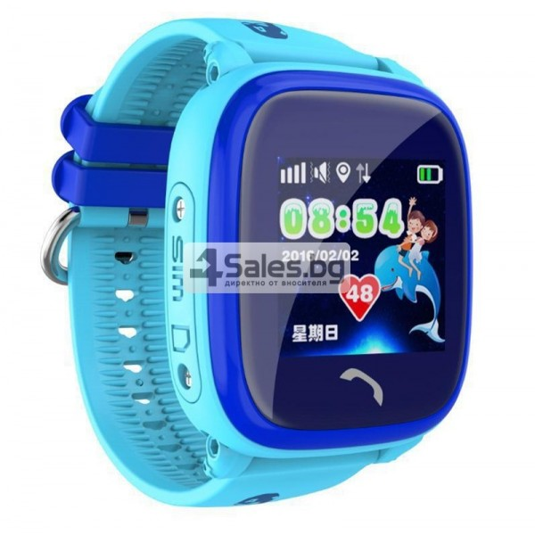 Ollly интелигентен часовник за деца IP65 водоустойчив sos-call WI-FI DF25