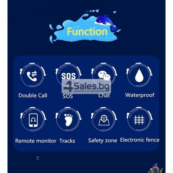Ollly интелигентен часовник за деца IP67 водоустойчив sos-call WI-FI DF25 11