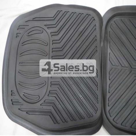 Универсални стелки за автомобил - Леген 3D 4 Части PVC ZH001