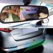 Видеорегистратор тип огледало за задно виждане с датчици за паркиране 5