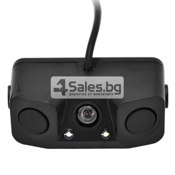 Камера за задно паркиране с датчици и алармен сензор PK KAM6 3