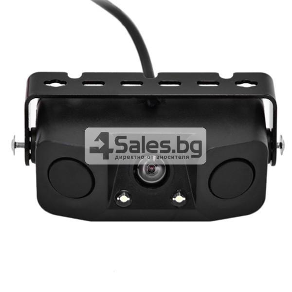 Камера за задно паркиране с датчици и алармен сензор PK KAM6 4