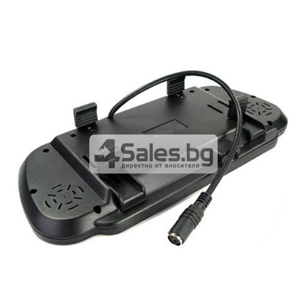 Огледален монитор за задно виждане с камера и 4 сензора 3