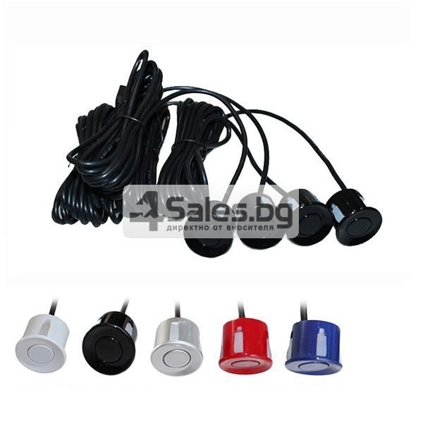 Паркинг асистент с 4 или6 или8 сензора и LED индикатор PK12 7