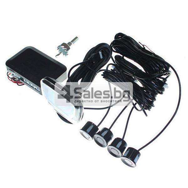 Паркинг асистент с 4 или6 или8 сензора и LED индикатор PK12 10