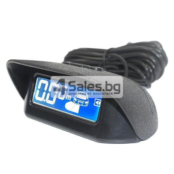 Паркинг асистент с 4 сензора и LED дисплей PK8-B 8