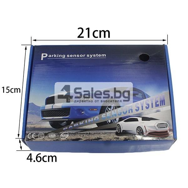 Паркинг асистент с 4 сензора и LED дисплей PK8-B 9