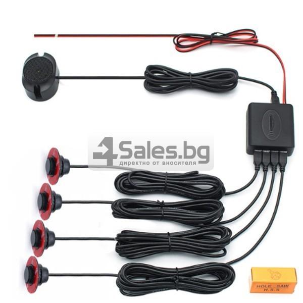 Плоски регулируеми сензори за паркиране с говорител