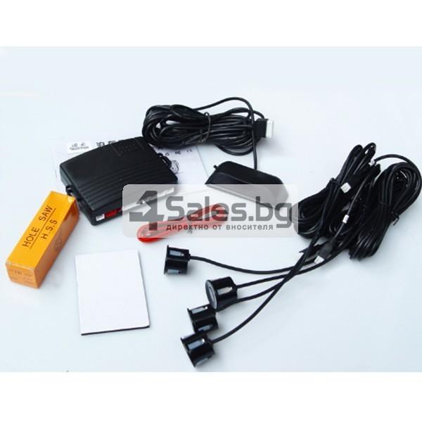 Четирисензорен парктроник с LED дисплей и универсална инсталация 4