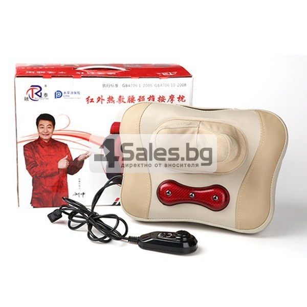 Компактна загряваща масажна възглавница TV82 8