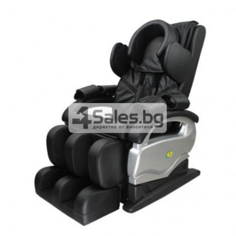 Мултифункционалният масажен стол със стилна и семпла визия A6