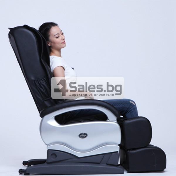 Мултифункционалният масажен стол със стилна и семпла визия A6 3