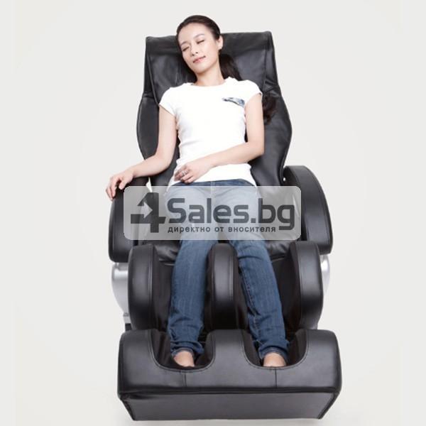 Мултифункционалният масажен стол със стилна и семпла визия A6 4
