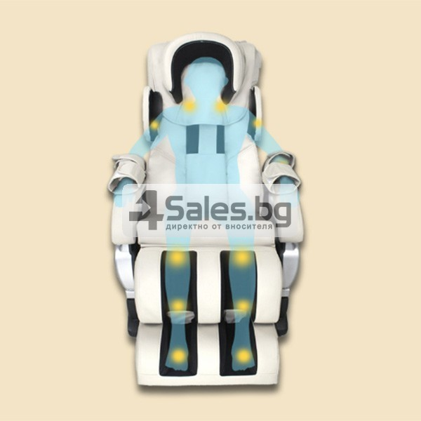 Мултифункционалният масажен стол със стилна и семпла визия A6 6