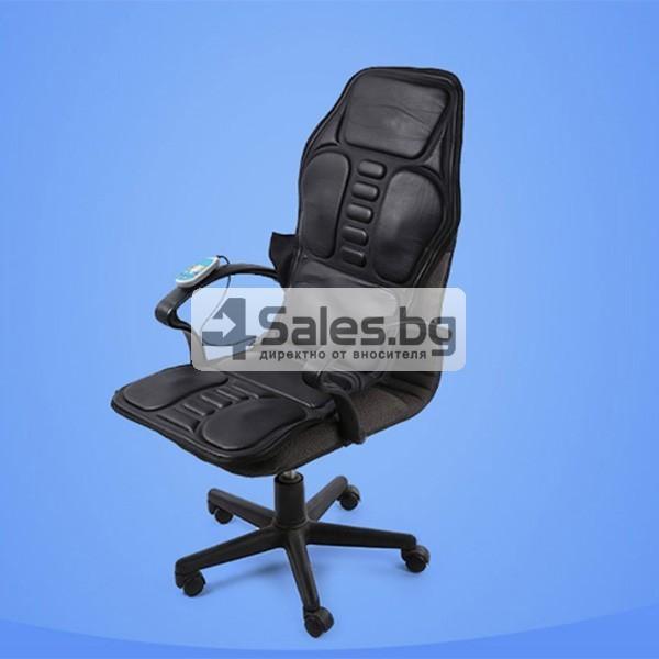 Масажна седалка 2 в 1 за колата или дома TV83 3