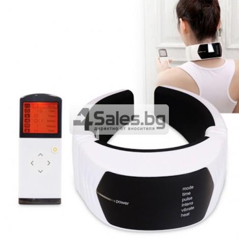 Многофункционален вибриращ масажор за врат TV85