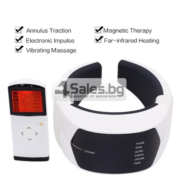 Многофункционален вибриращ масажор за врат TV85 4