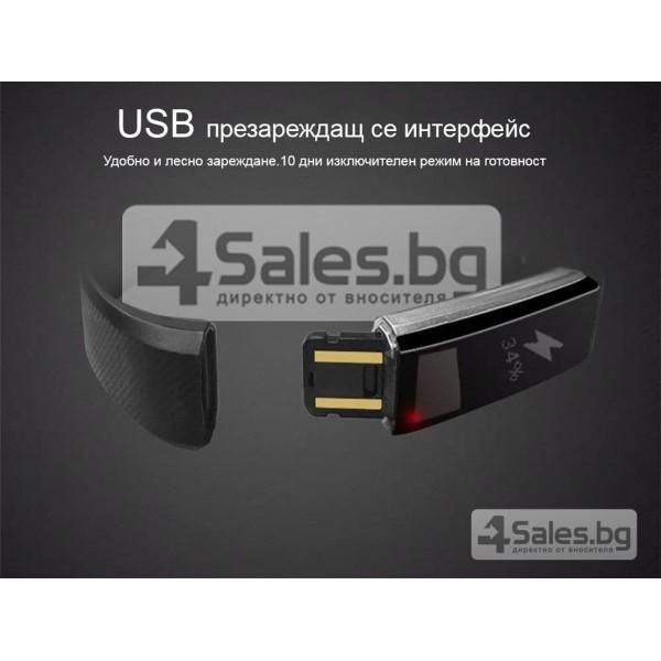 Смарт гривна - ID115 G-sensor 3D ускорител 0.86-инчов OLED екран SMW10 6