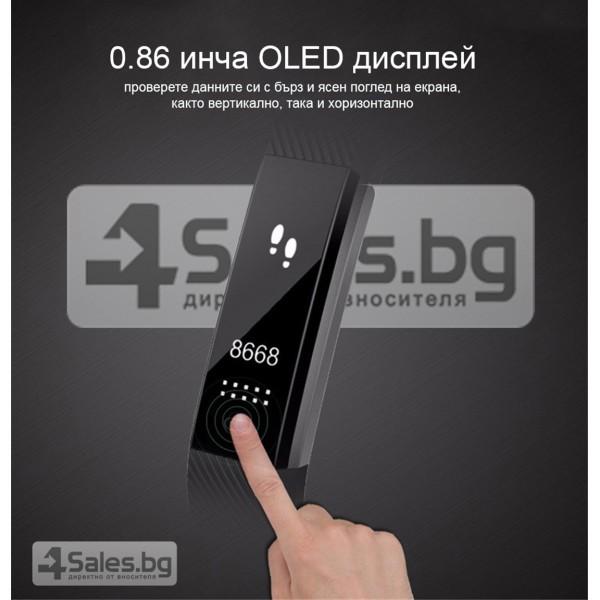 Смарт гривна - ID115 G-sensor 3D ускорител 0.86-инчов OLED екран SMW10 11