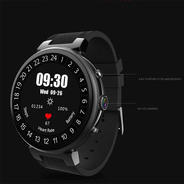 Смарт часовник с крачкомер, камера, GPS, Bluetooth, wi-fi, sim водоустойчив SMW28 5