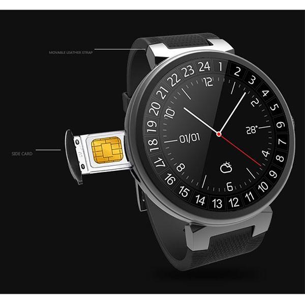 Смарт часовник с крачкомер, камера, GPS, Bluetooth, wi-fi, sim водоустойчив SMW28 6