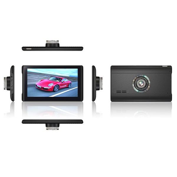 Android видеорегистратор с GPS Wi Fi 3D карти Блутут, две камери, 7 инча AC57 2