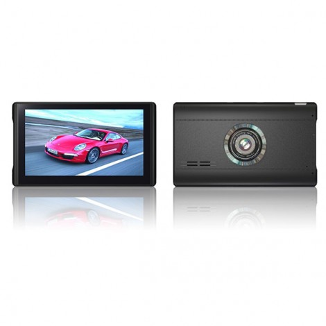 GPS навигация 7 инча и Видеорегистратор с две камери с Android AC57