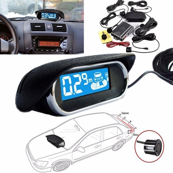 осемсензорна система за безопасно паркиране с LED дисплей PK8 2