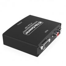 Аудио-видео адаптер за VGA+R/L към HDMI сигнал между различни устройства