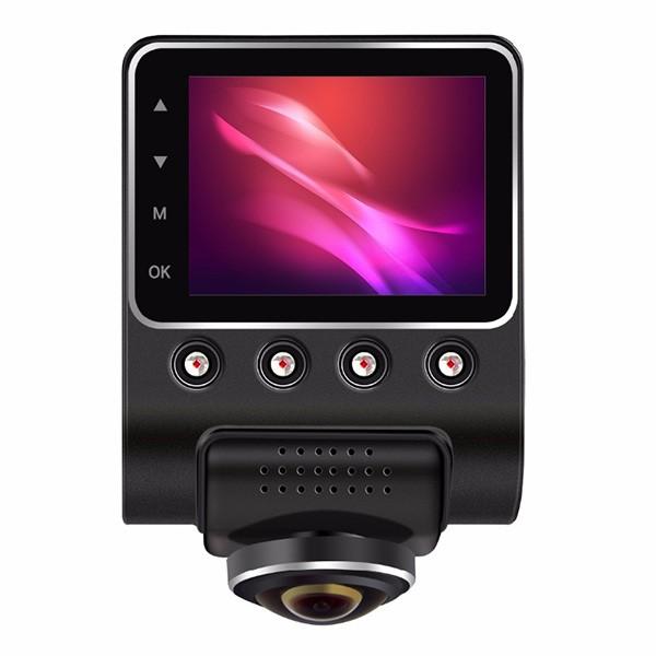 Камера за кола ОТ CAM с Wi Fi 360 градусово заснемане, паркинг и нощен запис AC56