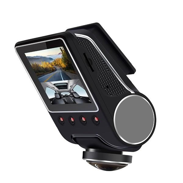 Камера за кола ОТ CAM с Wi Fi 360 градусово заснемане, паркинг и нощен запис AC56 4