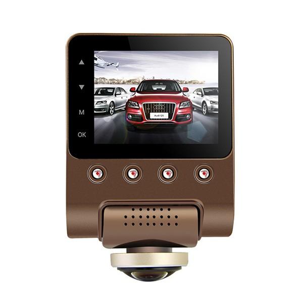 Камера за кола с Wi Fi 360 градусово заснемане, паркинг и нощен запис AC56-1 7