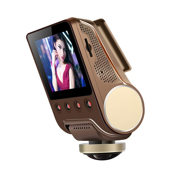 Камера за кола ОТ CAM с Wi Fi 360 градусово заснемане, паркинг и нощен запис AC56 8