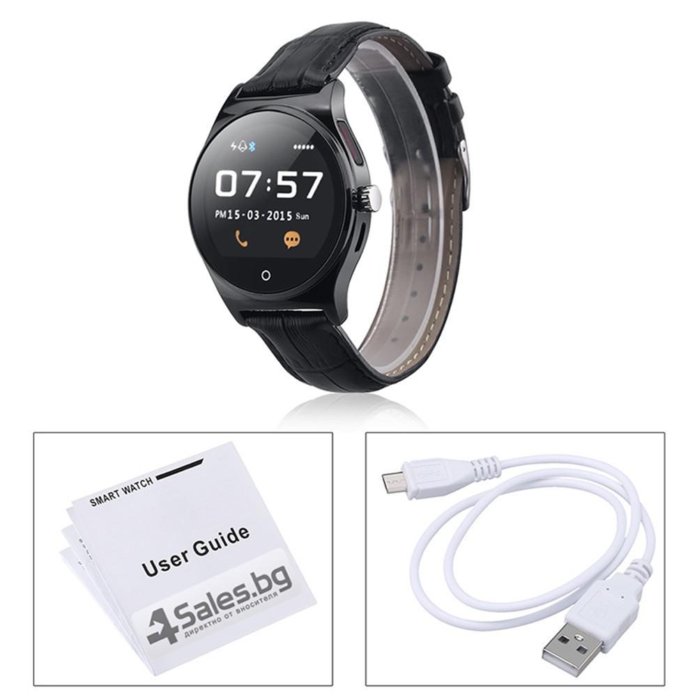 спортен смарт часовник Крачкомер Калории Сърдечен ритъм R11 SMW19 14