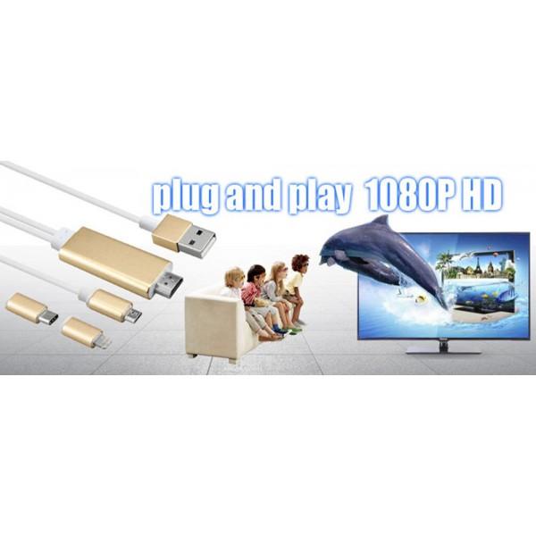 A5-14 Адаптер от Iphone към HDTV CA97 6
