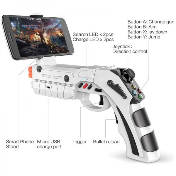 IPEGA Пистолет джойстик- контролер за смартфон PSP12 6