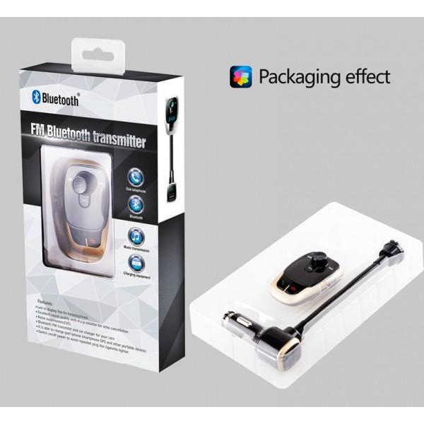 BL106 Bluetooth FM трансмитер за кола HF15 4