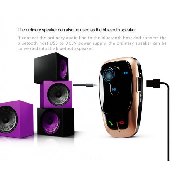BL106 Bluetooth FM трансмитер за кола HF15 7