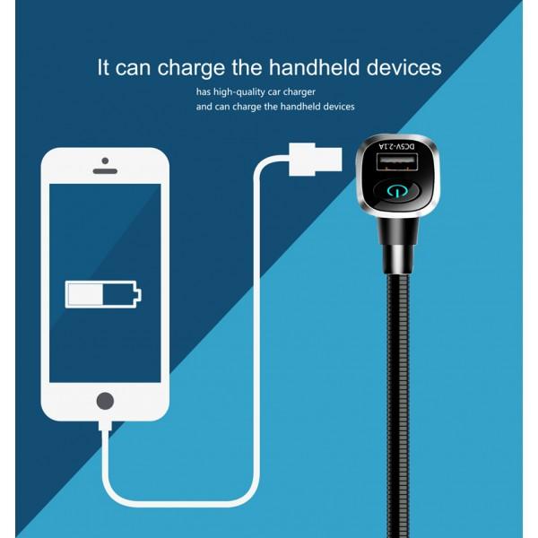 BL106 Bluetooth FM трансмитер за кола HF15 8
