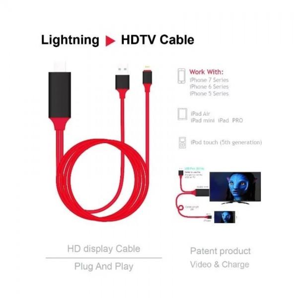 HDMI преходник за Iphone и Ipad CA111 2