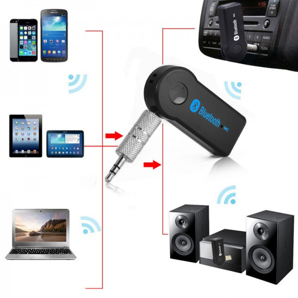 Мини Bluetooth трансмитер с 3.5 мм жак HF14 8