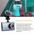 Ултра тънка FHD 1080P камера за кола Excelvan A8 с функция постоянен запис AC46 18