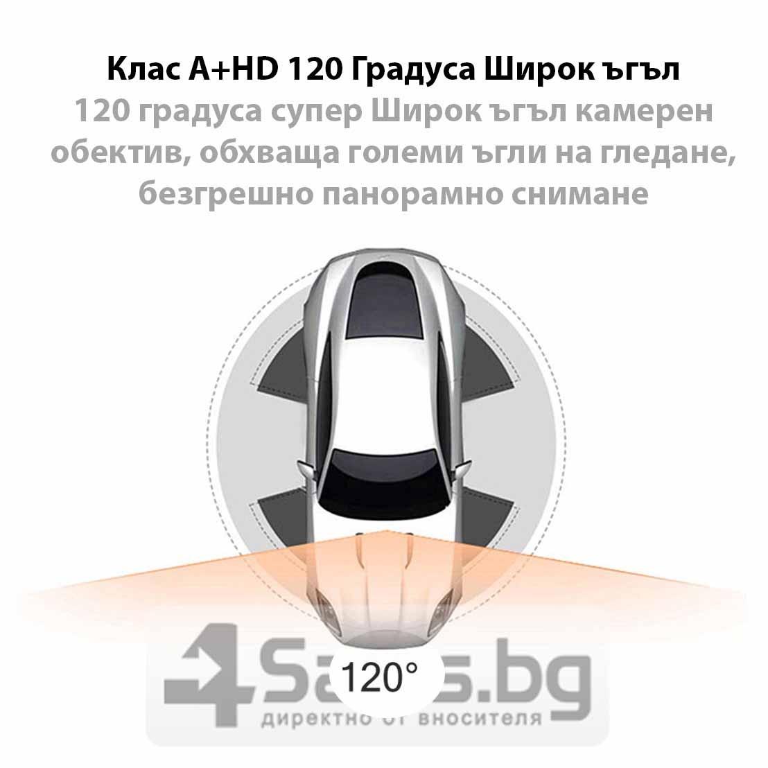 Ултра тънка FHD 1080P камера за кола Excelvan A8 с функция постоянен запис AC46 19