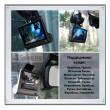 Видеорегистратор Full HD 1080P с 3 камери, дисплей 4 инча и нощен HDR запис AC50 28