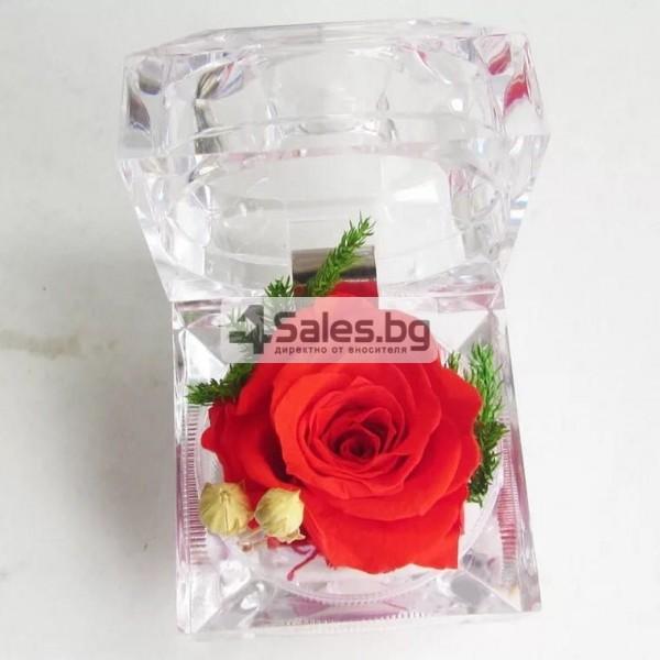 Вечна роза изключителен подарък за всяка жена YSH B 2